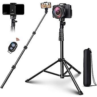 HanFei Bluetooth Selfie Stick 4 in 1 Handy Stativ Wireless Selfie-Stange Stab mit 140cm Stativ