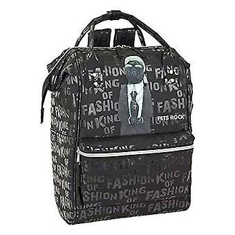 Laptop Backpack Pets Rock 13'' Black