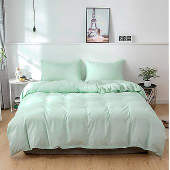 Peached Fabric Twin Size 168cm X 229cm Duvet Cover Sets, With 1 Pillowcase