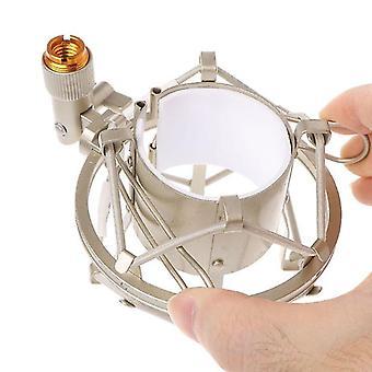 Soporte universal de choque del micrófono de 50 mm para micrófono condensador de 48 mm-54 mm de diámetro