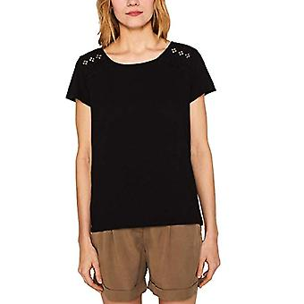 edc av Esprit 049CC1K024 T-Shirt, Svart (Svart 001), XS Women