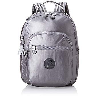Kipling SEOUL S Afslappet rygsæk, 35 cm, 14 liter, sort (Carbon Metallic)