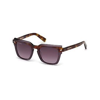 Dsquared2 - Akcesoria - Okulary przeciwsłoneczne - DQ0285-83Z - Damskie - siodła,rebeccapurple
