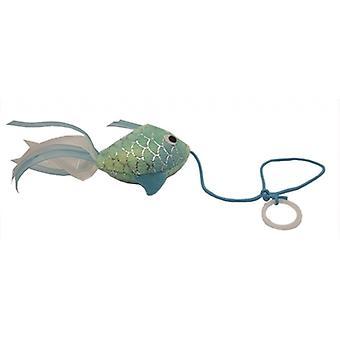 Happy Pet Mermaid Goldfish Cat Toy