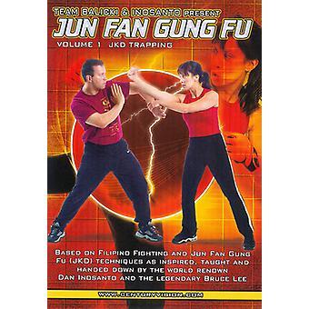 Jun Fan Gung Fu 1: Jkd Trapping Fighting [DVD] USA import