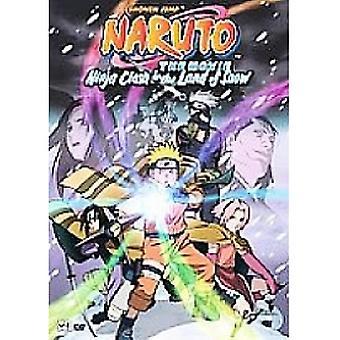 Naruto The Movie Ninja Clash In The Land Of Snow DVD