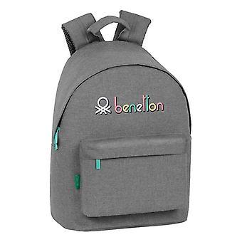 Sac à dos pour ordinateur portable Benetton Grey 14,1 »