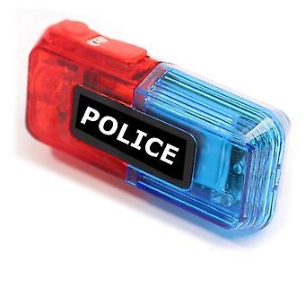 Clipe multifuncional piscando aviso de segurança luz da polícia do ombro