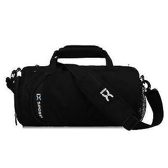 جديد أسود صغير الرجال أكياس الصالة الرياضية للتدريب اللياقة البدنية في الهواء الطلق السفر الرياضة حقيبة sm63597