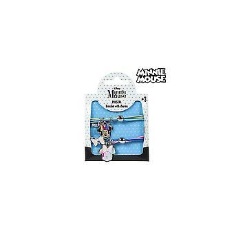 Girl's Bracelet Minnie Mouse 73911 (2 Uds)