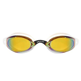 HUUB Brownlee 2 Senior Adults Swimming Goggles - White/Yellow