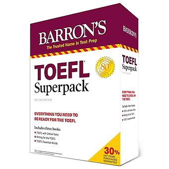 TOEFL Superpack 3 Books  Practice Tests  Audio Online by Pamela J Sharpe & Stephen J Matthiesen
