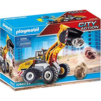 Playmobil 70445 City Action Construction Chargeur frontal - Seau mobile