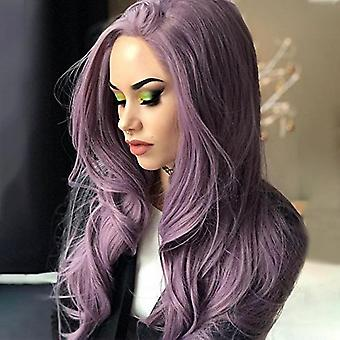 Fashion Women Long Curly Wavy Hair Wigs Synthetic Party Wig