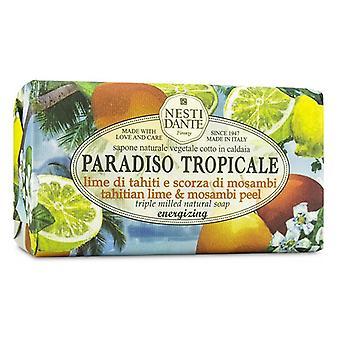 Nesti Dante Paradiso Tropicale Triple slipat Natural Soap - Tahitian Lime & Mosambi skala 250g / 8,8 oz