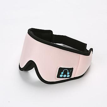 Wireless Bluetooth 5.0 3d Eye Mask, Earphone With Microphone, Suitable For People Lying Down To Travel