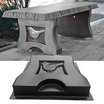 1Pcs villa tuin simulatie stenen vogel stoel been schimmel cement beton schimmel plastic bestrating schimmel