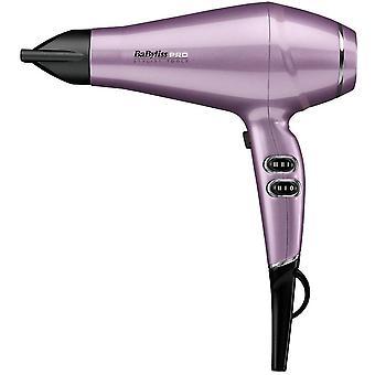 Babyliss Pro Keratin Lustre 2300W Long Life High Speed Hair Dryer - Lilas