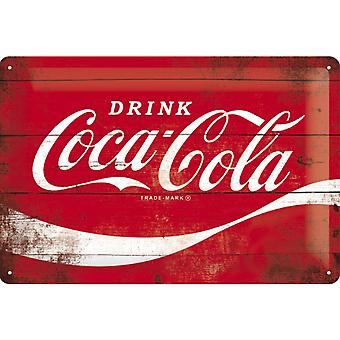 Coca Cola Vintage Design Stor Tenn tecken