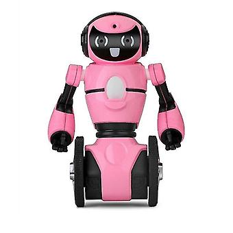 Digital cameras rc robot wltoys f4 wifi camera intelligent avoidance rc robot with toys christmas gift toys gifs robot pink