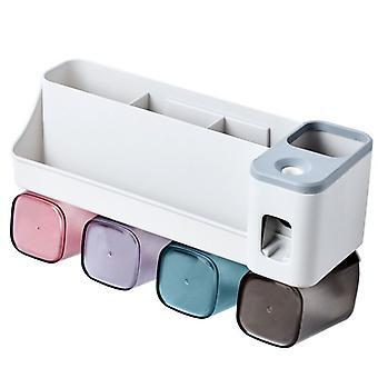 Hammasharjan pidike Monitoiminen säilytysteline Automaattinen hammastahnan puristaminen Koneen lisävarusteet