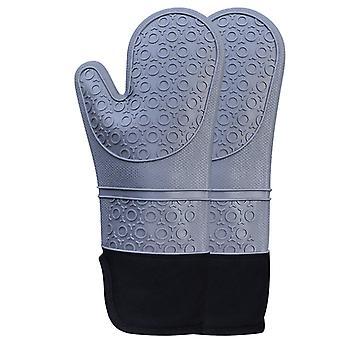 Ofenhandschuhe Hitzebeständiges Silikon1 Paar Küchenkoch-Backhandschuhe