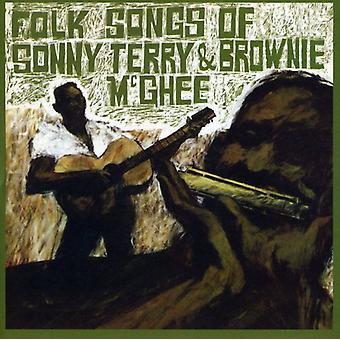 Terry/McGhee - Folk Songs of Sonny Terry & Brownie McGhee [CD] USA import