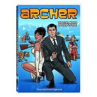Archer - Archer: Säsong 3 [DVD] USA import
