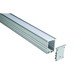 LED Robus Aluminium Extrusion - Recessed/Suspended
