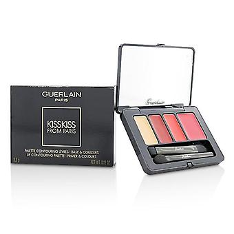 Guerlain Kisskiss From Paris Lip Contouring Palette - # 001 Passionate Kiss - 3.5g/0.12oz