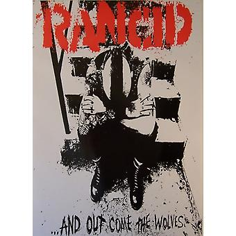 Rancid Wolves Out Come The Wolves Poster Poster Print