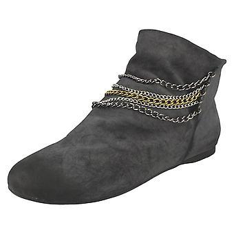 Ladies Savannah Slip On Ankle Boots