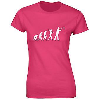 Darts Evo Evolution Womens T-Shirt 8 Colours (8-20) by swagwear
