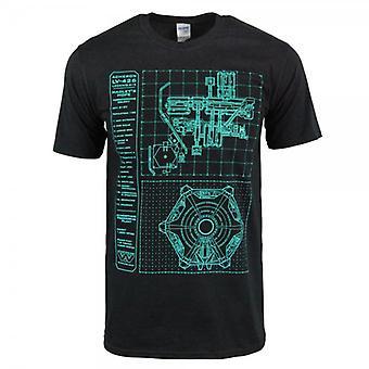 Honcho SFX Mens Hadley's Hope Colony Display T Shirt Black