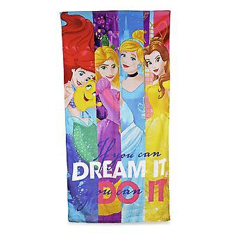 Disney Girls Disney Princess Characters Printed Velour Towel