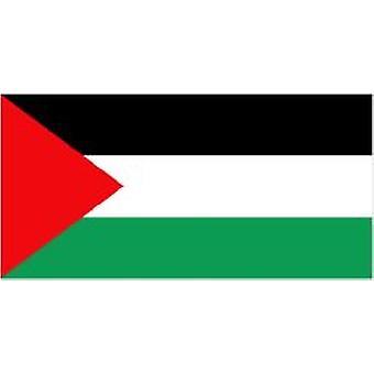 Palestiinan lippu 5 jalkaa x 3 ft jossa