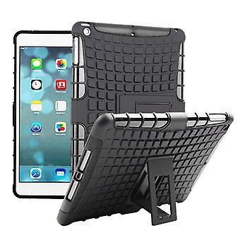 Hybridi ulkouima suojus tapauksessa musta Apple iPad turvatyyny