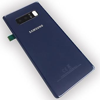 Samsung GH82-14979B battery cover cover for Galaxy note 8 N950F + adhesive tape Blau