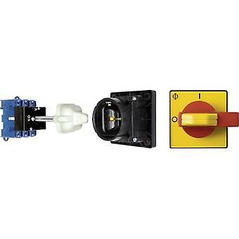 Kraus & Naimer KG80 T203/12 VE Isolator switch + door interlock 80 A 1 x 90 ° Red, Yellow 1 pc(s)