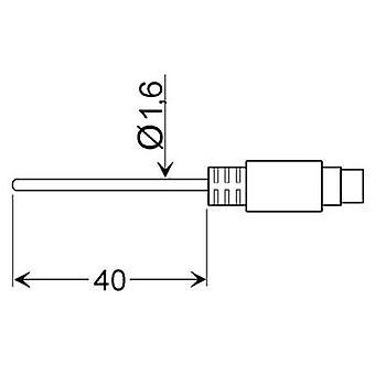 Greisinger GLF 401 MIN Luftsond-25 upp till 70 ° c sensor typ PT100