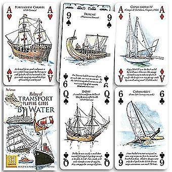 Historia vesiliikenne joukko 52 kortin pakalla (+ Jokerit)