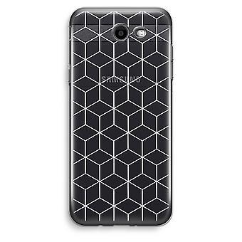 Samsung Galaxy J3 Prime (2017) przezroczysty (Soft) - moduły czarno-białe