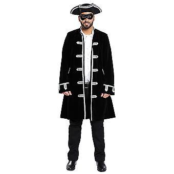 Maskert ball Venezia Edelmann menn pels kostyme for menn