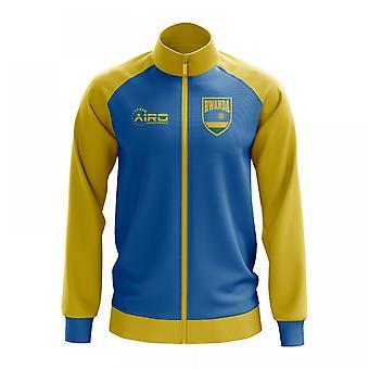 Rwanda koncept fodbold Track jakke (himlen)
