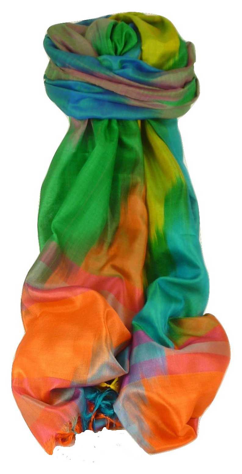 Varanasi Ekal Premium Silk Long Scarf Heritage Range Shan 5 by Pashmina & Silk