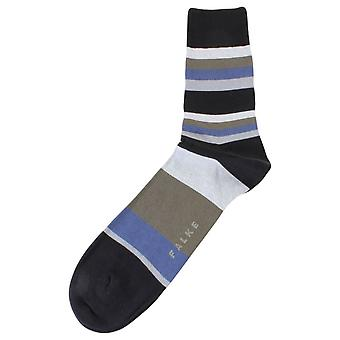 Falke Filter Stripe sokker - svart Mix
