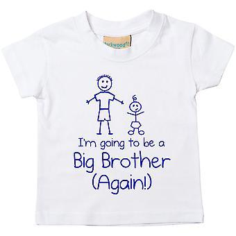Weiß I 'm gonna ein großer Bruder zu sein wieder Tshirt