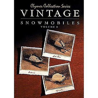 Vintage Snowmobiles: Volume 2 (Clymer Collection Series)