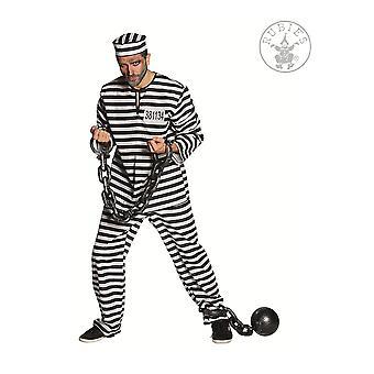 Herren Kostüme Crook Gefangener Anzug