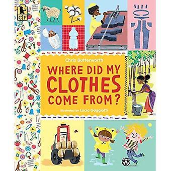 Hvor kommer min klær fra? (Utforske hverdagen)
